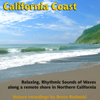 California Coast surf sounds
