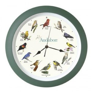 Audubon Singing Bird Clock